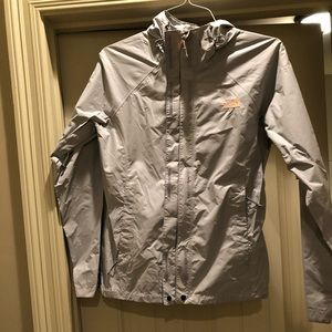 Other - Women's grey north face rain jacket